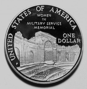 Women in the Military $1 Reverse