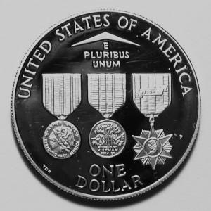 Vietnam Veterans $1 Reverse