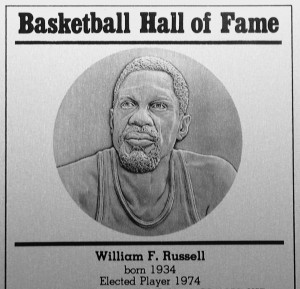 Basketball Hall of Fame, Bill Russell