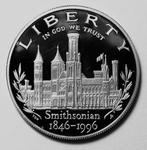 Smithsonian $1 Obverse